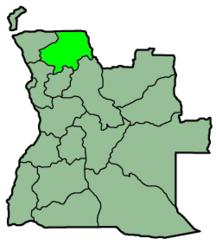 Prowincja Uíge
