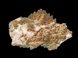 Ankerite mineral, calcium iron carbonate