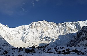 Annapurna Massif - The south face of Annapurna I