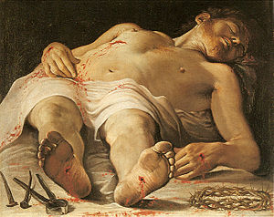 Corpse of Christ - Image: Annibale carracci, salma di cristo