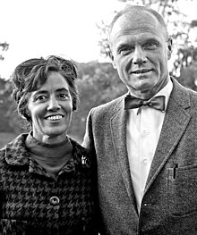 Black-and-white photo of the Glenns