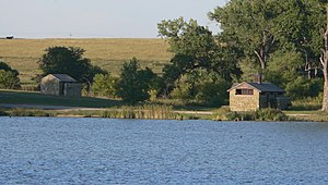 Antelope Lake Park (Graham Co, KS) N shelter 1.JPG