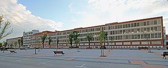 Barreiros (manufacturer) - Former Barreiros Diesel headquarters, Madrid.