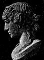 Antinous-bysten i Louvre, Nordisk familjebok.png