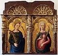 Antonio, bartolomeo vivarini e bottega, ss. caterina d'alessandria e lucia, 1462, 01.jpg
