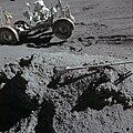 Apollo 15 Green Boulder Irwin holding LRV.jpg