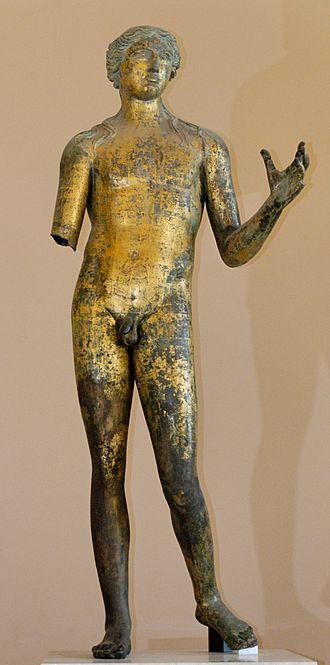 Lillebonne - Image: Apollo of Lillebonne Louvre Br 37
