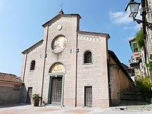 La chiesa parrocchiale della Purificazione di Maria Vergine di Apricale