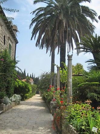Trsteno Arboretum - Image: Arboretum Trsteno 1