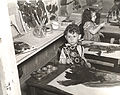 Archives of American Art - A young child named Joachim at a free Federal Art Project art class in Brooklyn - 12044.jpg