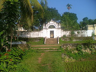 """Kilimanoor Palace - Entrance to the Kilimanoor Palace or """"Arch"""""""