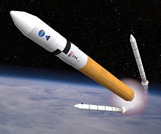 Ares V Canceled project of future NASA rocket from project Constellation.
