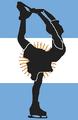 Argentina figure skater pictogram.png