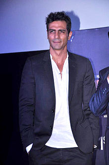 Arjun Rampal at the First look launch of 'Heroine' 10.jpg