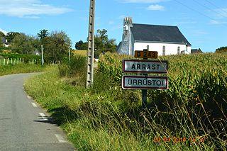 Arrast-Larrebieu Commune in Nouvelle-Aquitaine, France