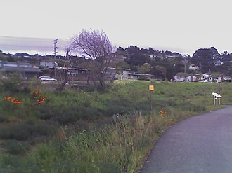 Baxter Creek - The Northern terminus of the Ohlone Greenway trail at Baxter Creek Gateway Park