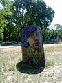 Arte callejero Buenos Aires subte línea H Parque Patricios II.jpg
