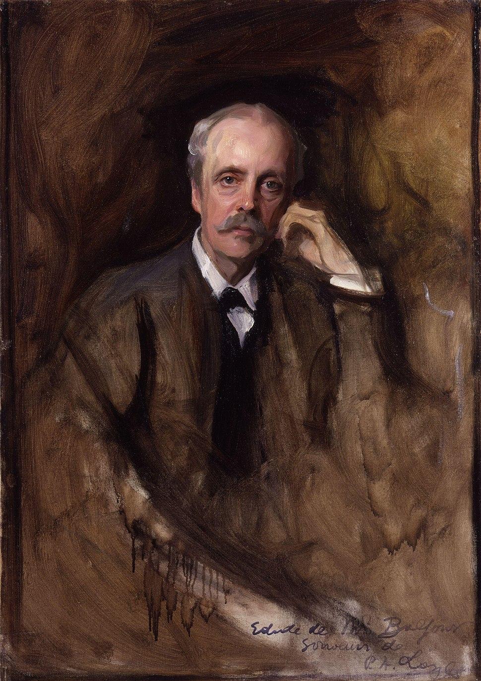 Arthur James Balfour, 1st Earl of Balfour by Philip Alexius de László