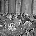 Artis 125 jaar dierentuin. koningin Juliana met links Staatssecretaris Y. Schol…, Bestanddeelnr 915-1162.jpg