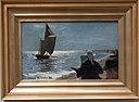 Artists on Skagen South Beach, by P. S. Kroyer, with frame.jpg