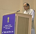 Arun Jaitley addressing at the 40th Anniversary Celebrations of the Indian Civil Accounts Service, organised by the office of Controller General of Accounts (CGA), in New Delhi.jpg