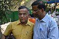 Arun Kumar Majumder and Nisith Ranjan Chowdhury - Howrah 2015-04-12 7739.JPG
