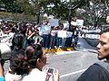 Asamblea de Estudiantes en la Avenida Luis Roche de Altamira.jpg