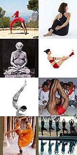 Asana Postures in hatha yoga and modern yoga practice