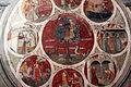Asciano, museo di palazzo corboli, int., sala di aristotele con affreschi attr. a Cristoforo di Bindoccio e Meo di Pero, XIV sec. 07.JPG