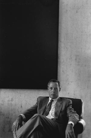 Asher Edelman - Asher Edelman, 1993, by Erling Mandelmann.