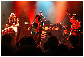 Asian Dub Foundation v Berlíně (listopad 2008)