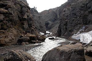 Skútustaðahreppur - Image: Askja Drekagil (canyon of dragons)