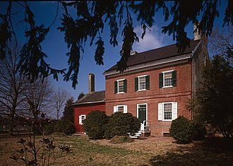 National Register of Historic Places listings in Kent County, Delaware - Image: Aspendale, Route 300 (Downs Chapel), Kenton vicinity, (Kent County, Delaware)