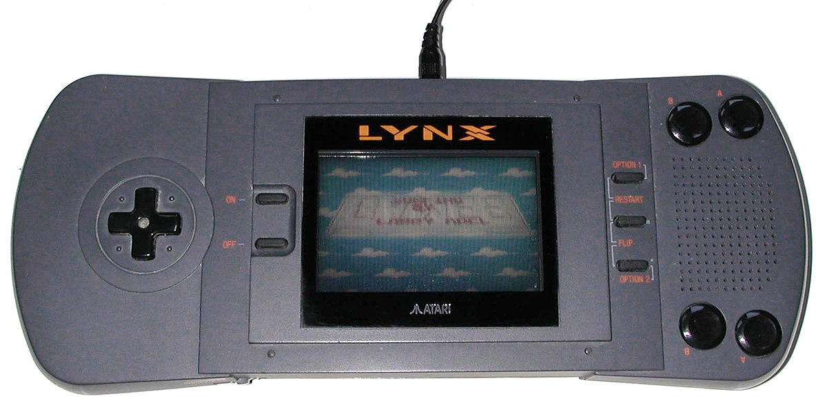 SWITCH LITE, LE TOPIC OFFICIEL - Page 3 1200px-Atari-lynx-1-1000