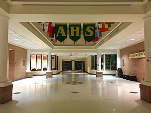 Athens High School (Ohio) - The Athens High School Atrium