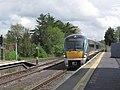 Athlone - Westport bound train entering Athlone Railway Station (geograph 4636574).jpg