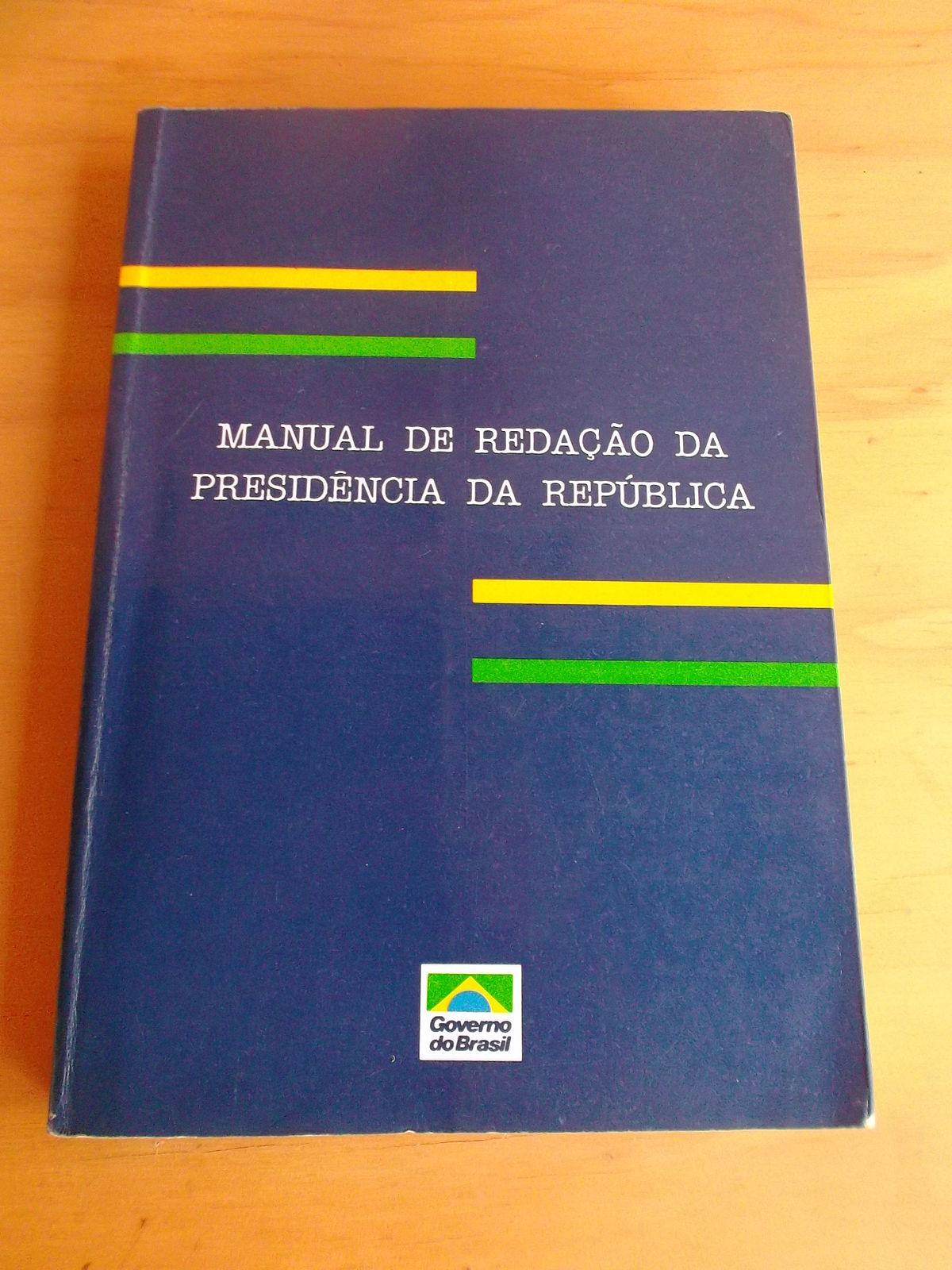 Manual De Reda U00e7 U00e3o Da Presid U00eancia Da Rep U00fablica  U2013 Wikip U00e9dia  A Enciclop U00e9dia Livre