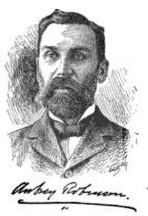 Aubrey Robinson (Hawaii) - Aubrey Robinson in 1901