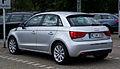Audi A1 Sportback 1.2 TFSI Ambition – Heckansicht, 9. Juni 2012, Hilden.jpg
