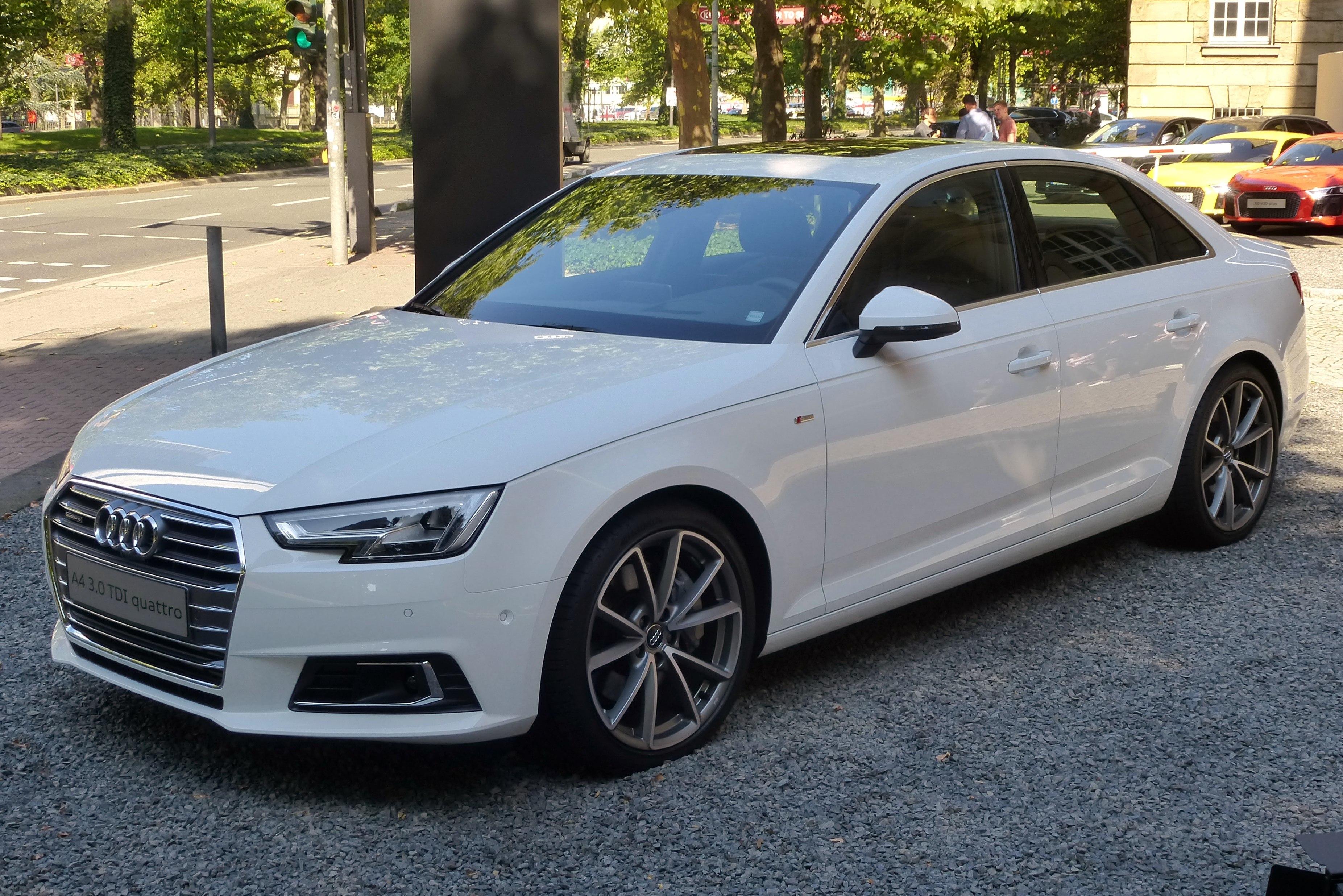 Audi A4 B9 Die vollständigen Informationen und line Verkauf mit