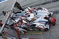 Audi Sport Team Joest pit stop practice (no1) 2012 WEC Fuji.jpg
