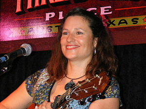 Audrey Auld-Mezera - Image: Audrey Auld at Threadgill's in Austin, TX. Photo by Ron Baker