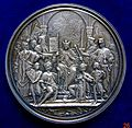 Augsburg, Silver Medal 600th Anniversary of 1282 Hoftag, obverse.jpg