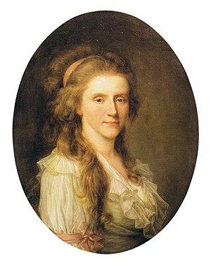Uetersen - Augusta Louise zu Stolberg-Stolberg in 1780