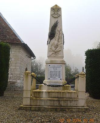 Aulnay, Aube - Aulnay War Memorial