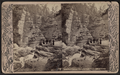 Ausable Chasm. Opposite Split Rock looking down, by G. W. Baldwin.png
