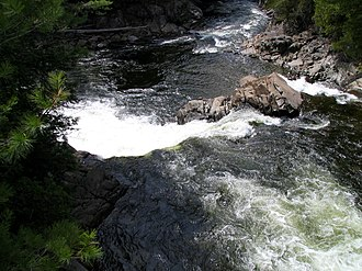 Keene, New York - Hull Falls, Ausable River