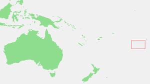 Karte von Austral-Inseln