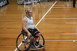 Shelley Chaplin - Chaplin at a 2012 game in Sydney
