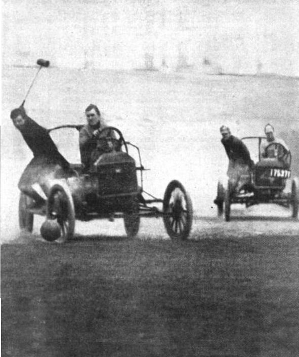 Auto polo by Collier's